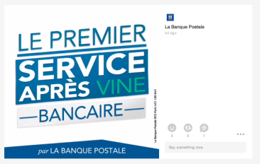 Vine #SAVine La Banque Postale lancement