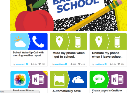 Back to school recipes IFTTT