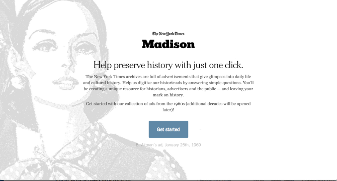 Home page Madison, New York Times