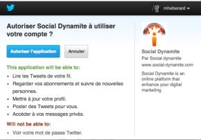 connexion twitter social dynamite