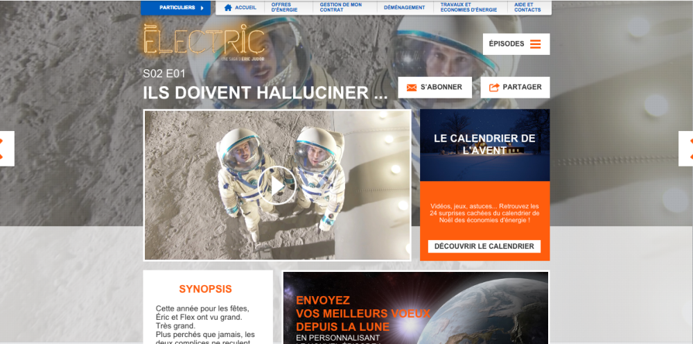 Homepage site electric edf episode 1 saison 2