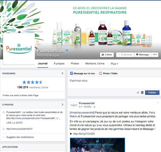 Facebook PureEssentiel