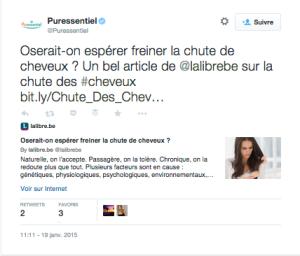 Tweet Puressentiel