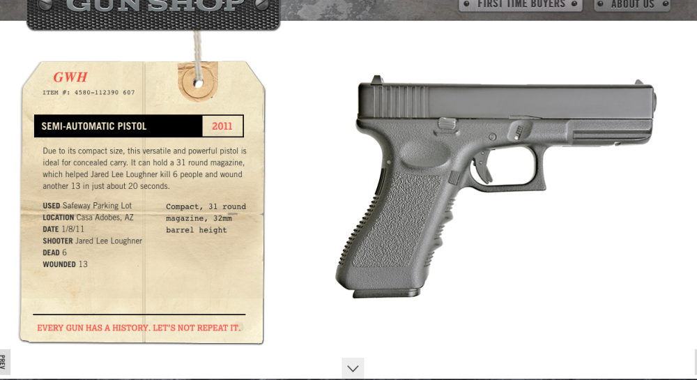 Guns with history Site exemple