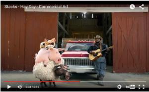 Hay Day publicité