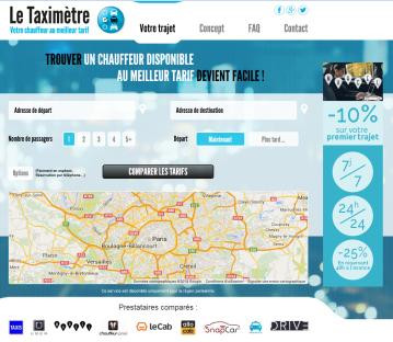 Homepage Taximètre