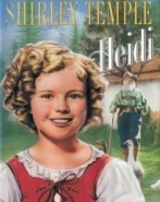 Heidi fillette boucles blondes