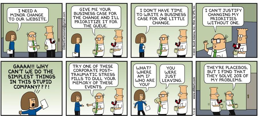 Dilbert website change