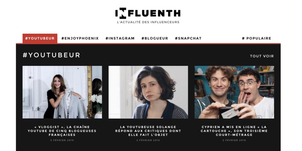 Influenth - UNE
